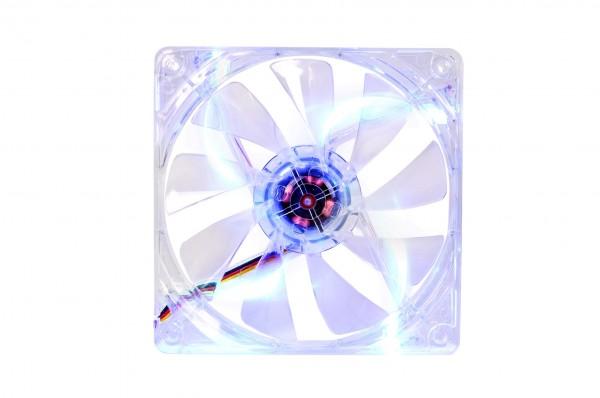 Thermaltake Luna & Pure Series LED High Airflow PC Case Fans Announced