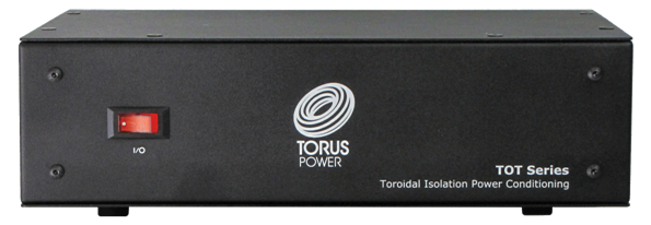 Torus Power TOT Max Toroidal Isolation Power Conditioner Introduced