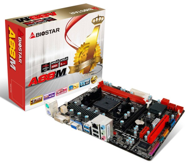 BIOSTAR A88M Micro ATX Motherboard Launched