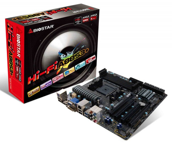 BIOSTAR Hi-Fi A88S3+ Motherboard Launched