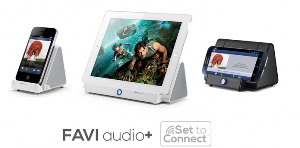 FAVI Set to Connect Wireless Speaker Introduced