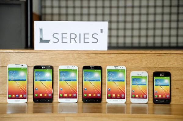 LG L SeriesIII Smartphones Debut