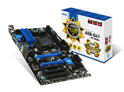 MSI A58-G41 PC Mate, MSI A58M-E35 and MSI A58M-E33 Motherboards Launched