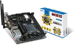MSI A88XI AC FM2+ Mini-ITX Motherboard Introduced