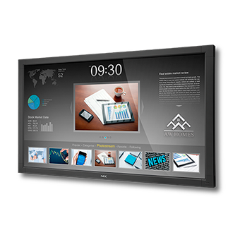 NEC Display V463-TM LED Backlit Touch-Integrated Display Launched