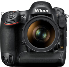 Nikon D4S Digital SLR Camera Introduced