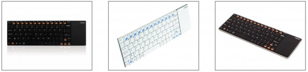 Rapoo E2700 Ultra-Slim Wireless Multimedia Keyboard with Touchpad Announced