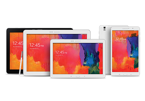 SAMSUNG Galaxy Note Pro and Tab Pro Series Widescreen Tablets Introduced