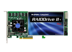 Super Talent RAIDDrive II Plus PCIe SSD Launched