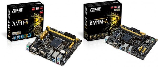 ASUS AM1M-A and AM1I-A Motherboards Announced