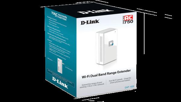 D-Link DAP-1520 11AC Range Extender Released