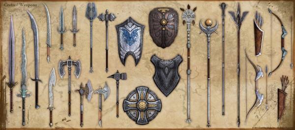 Elder Scrolls Online Crafted Weapons