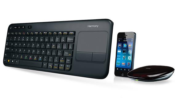 Logitech Harmony Keyboard Unveiled