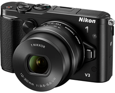 Nikon 1 V3 and 1 NIKKOR VR Cameras Unveiled