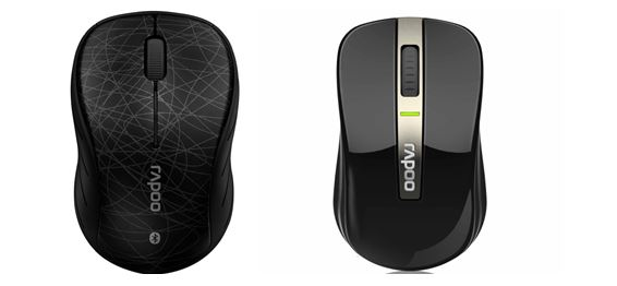 Rapoo 6080 Mouse and 6610 Mouse Announced