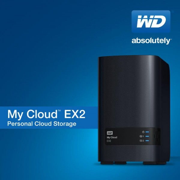 WD My Cloud EX2 2-Bay Prosumer Personal Cloud Storage NAS Revealed