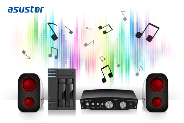 ASUSTOR Compatibility for ASUS Xonar Series USB DAC Devices Announced