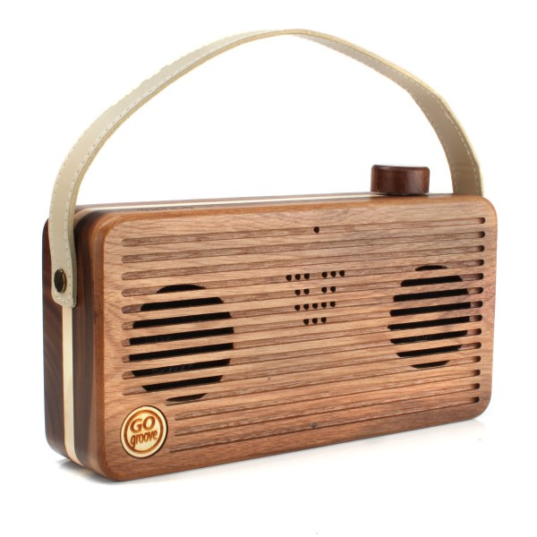Accessory Power GOgroove BlueSYNC WUD Real Wood Portable Bluetooth Speaker Debuts