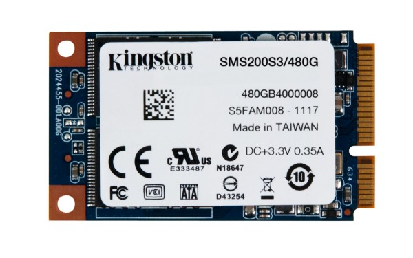 Kingston SSDNow mS200 mSATA SSD Line Released