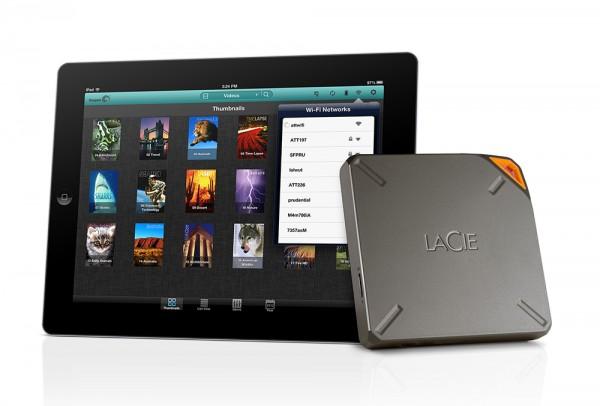 LaCie Fuel Wireless Hard Drive Announced
