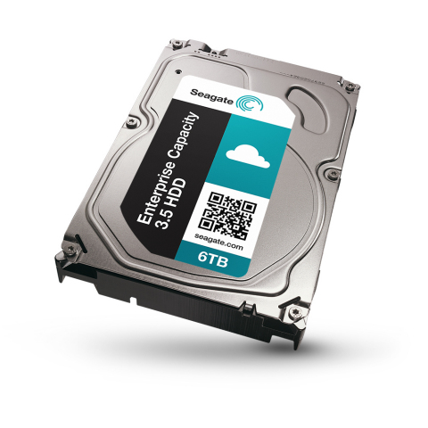 Seagate Enterprise Capacity 3.5 v4. 6TB HDD Released