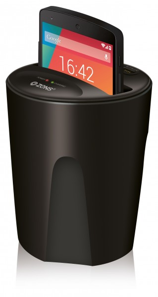 ZENS Qi Wireless Car Smartphone Charger Launched
