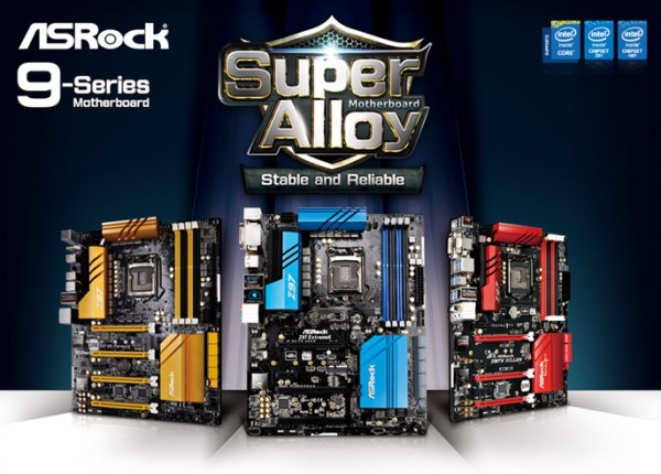 ASRock Intel 9 Series Super Alloy Motherboards Announced