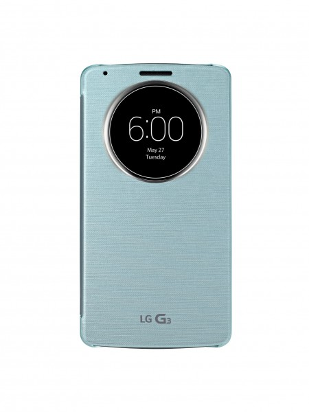 LG QuickCircle Case for G3 Smartphones Introduced