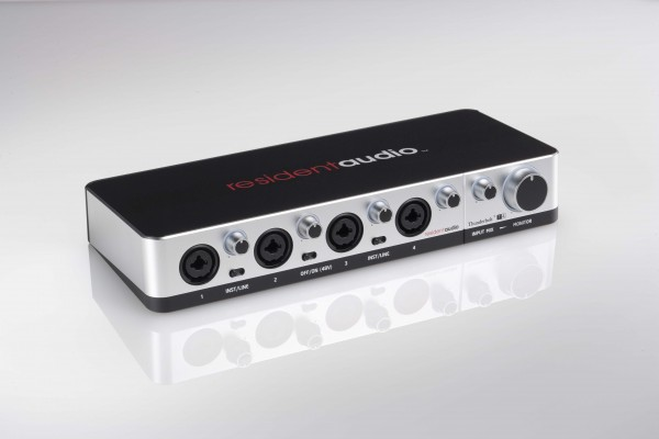 Resident Audio T4 Bus-Powered Multichannel Thunderbolt Interface Introduced