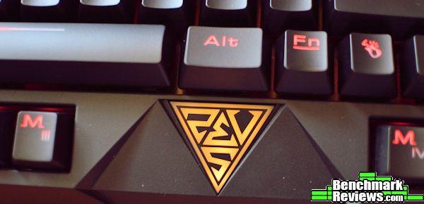 Gamdias Essential Keyboard Logo Lit