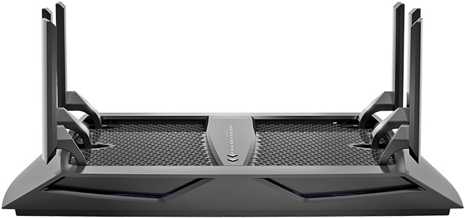 Netgear_Nighthawk_ X6_ AC3200_Tri-Band_WiFi_Router_Tech_Overview_Front_Ears_Up