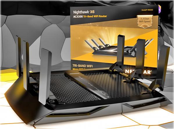Netgear_Nighthawk_ X6_ AC3200_Tri-Band_WiFi_Router_Tech_Overview_Front_wBOX