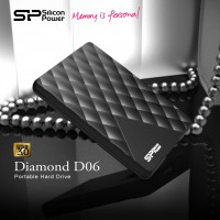 SP/ Silicon Power Diamond D06 USB 3.0 Portable Hard Drive Launched