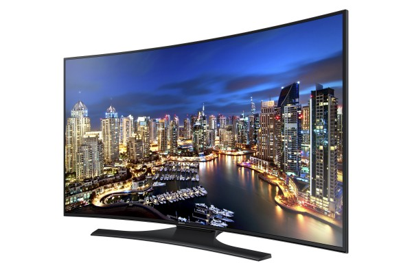 Samsung HU7250 Curved UHD TV Announced