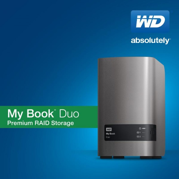 WD My Book Duo External Storage Solution Launched