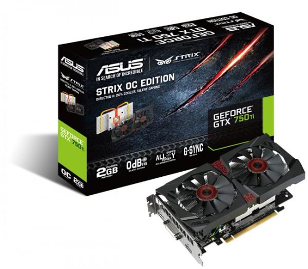 ASUS Strix GTX 750 Ti OC Graphics Card Debuts