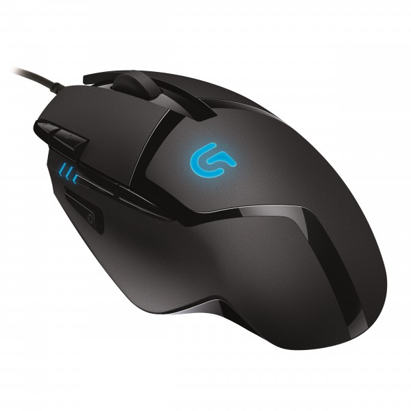 Logitech G402 Hyperion Fury Gaming Mouse Unveiled