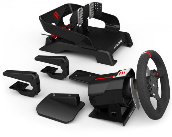 Mad Catz Pro Racing Force Feedback Wheel and Pedals for Xbox One Shipped