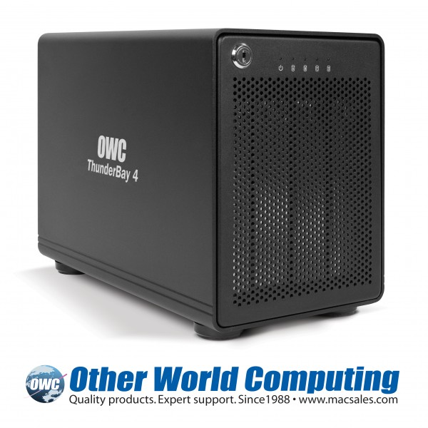 OWC ThunderBay 4 High-Performance 4-Bay Enclosure Debuts