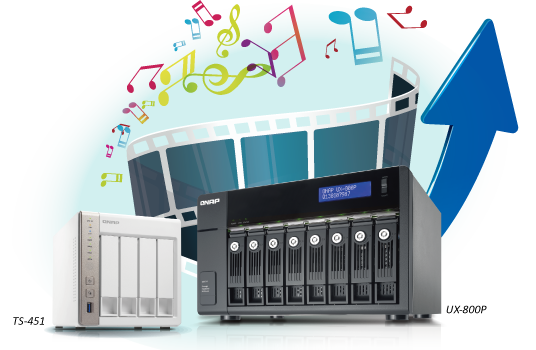 QNAP TS-x51 Series NAS Released