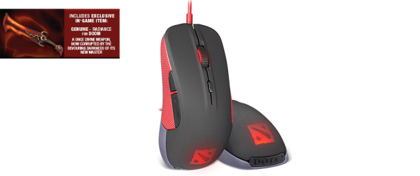 SteelSeries Rival Dota 2 Edition Gaming Mouse Introduced