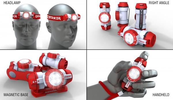 Striker Capsule Four in One Task Light Announced