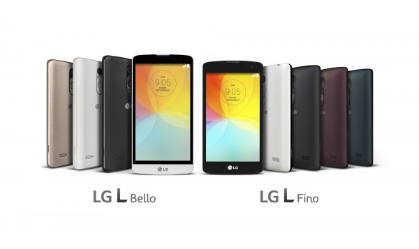 LG L Fino and L Bello Smartphones Unveiled