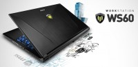 MSI WS60 Mobile Workstation Unveiled