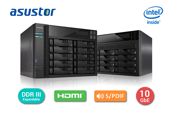 ASUSTOR AS7008T and AS7010T NAS Devices Introduced