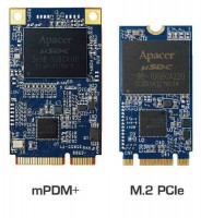 Apacer mPDM+ and M.2 PCIe SSDs Launched
