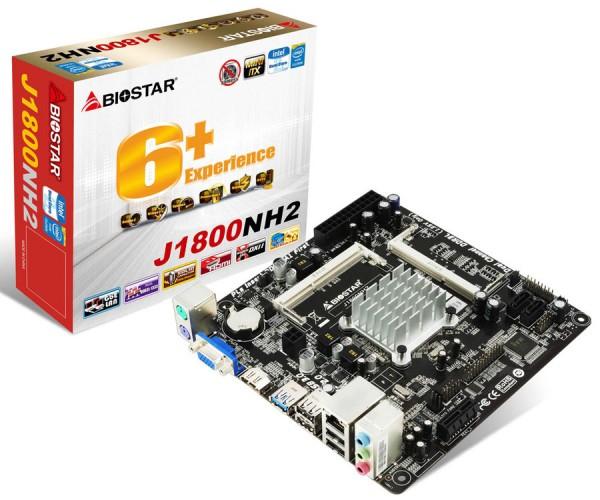 BIOSTAR J1800NH2 Mini ITX Mainboard Announced