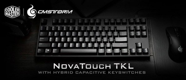 Cooler Master NovaTouch TKL Keyboard Announced