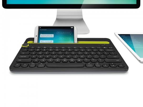 Logitech K480 Bluetooth Multi-Device Keyboard Unveiled