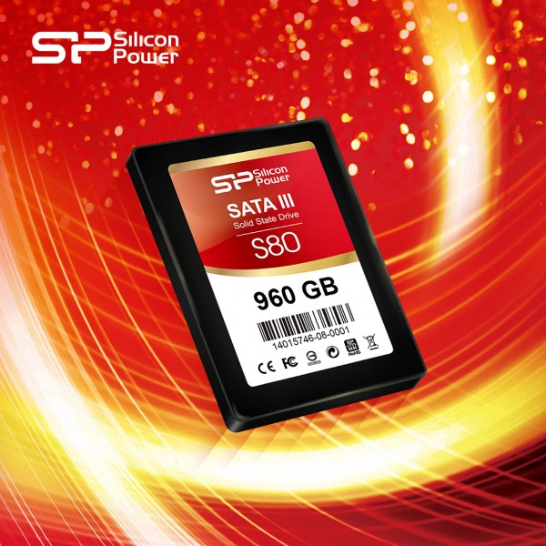 SP/Silicon Power Slim S80 Ultra-slim SSD Unveiled